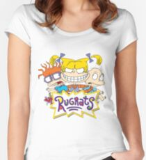 rugrats Women's Fitted Scoop T-Shirt