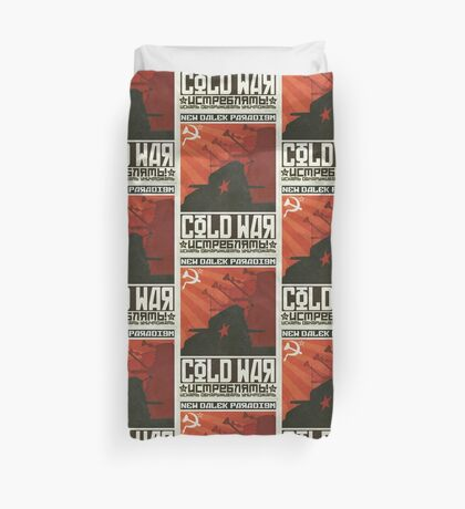 Cold Time War Duvet Cover