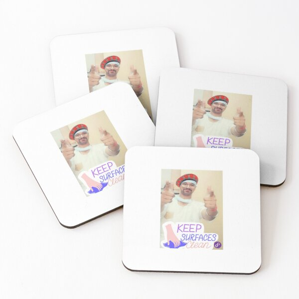 house clean Coasters (Set of 4)