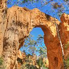 The Golden Arch of Hill End by Michael Matthews