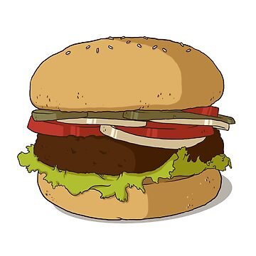 Burger & Fries by urimenta