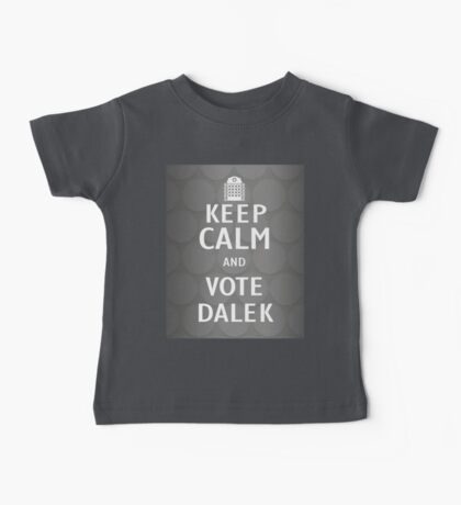 Keep calm and vote Dalek Kids Clothes