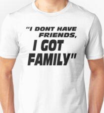 Camiseta unisex El rápido y el furioso