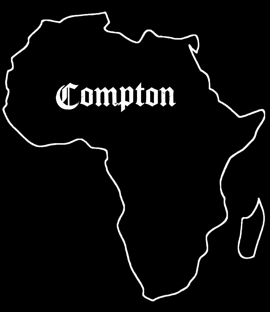 Compton - Africa (white) by roodbelletje