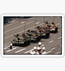 Tank Man – History in Pixels Sticker
