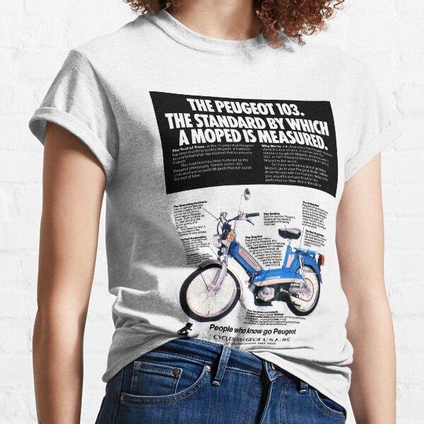 PEUGEOT 103 CYCLOMOTEUR T-shirt classique