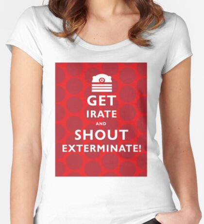 GET IRATE Women's Fitted Scoop T-Shirt