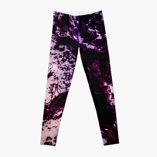Purple snow Leggings