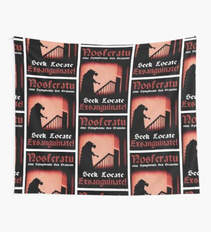 Remembrance of the Vampires Wall Tapestry
