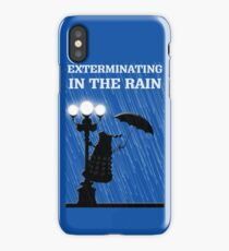 MusiKill in the Rain iPhone Case