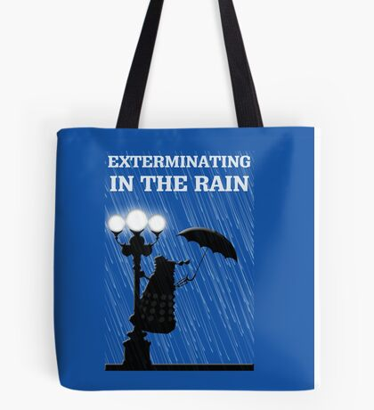 MusiKill in the Rain Tote Bag