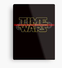 Time Wars  Metal Print