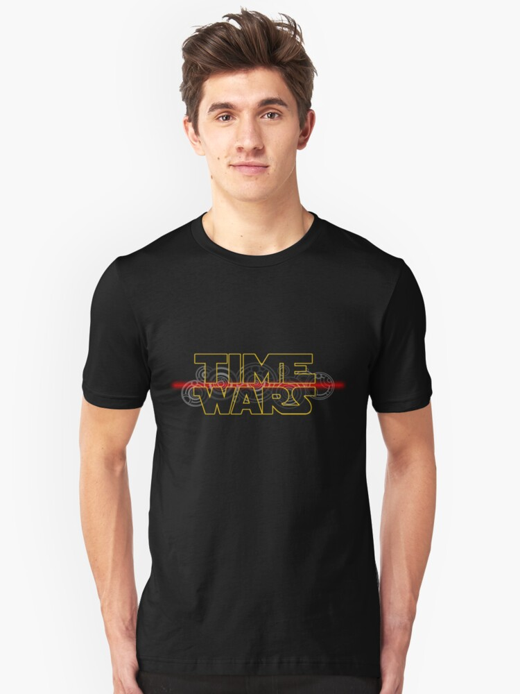 Time Wars  Unisex T-Shirt Front