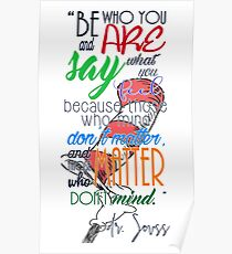 Be who you are! Poster
