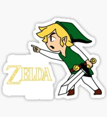 Call Me Zelda One More Time Sticker