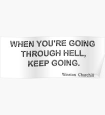 Keep Going! Poster