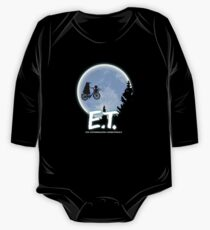 Exterminating Terrestrials Long Sleeve Baby One-Piece