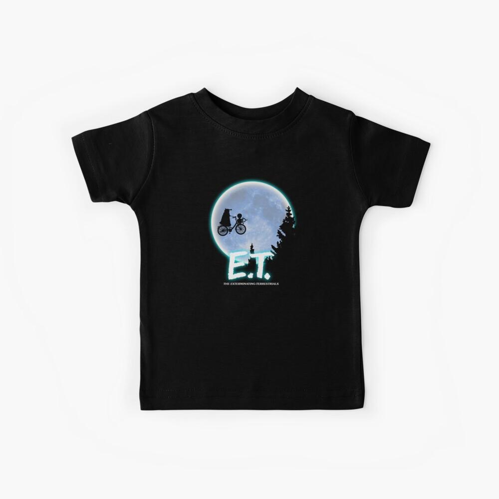 Exterminating Terrestrials Kids T-Shirt