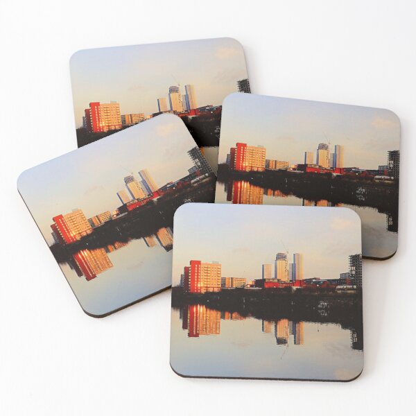 New reflections, Manchester Coasters (Set of 4)