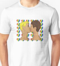 Sweethearts Gay Kiss! Unisex T-Shirt