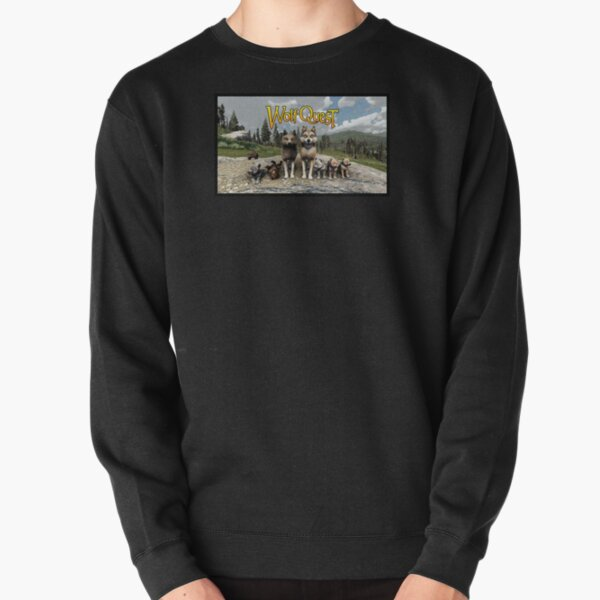 Slough Creek Wolf Family Pullover Sweatshirt