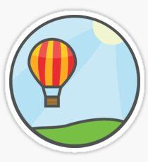 Hot Air Ballon Sticker