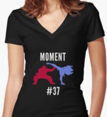 Evo Moment #37 Women's Fitted V-Neck T-Shirt