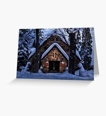 Little Stone Church - Erie, PA Greeting Card