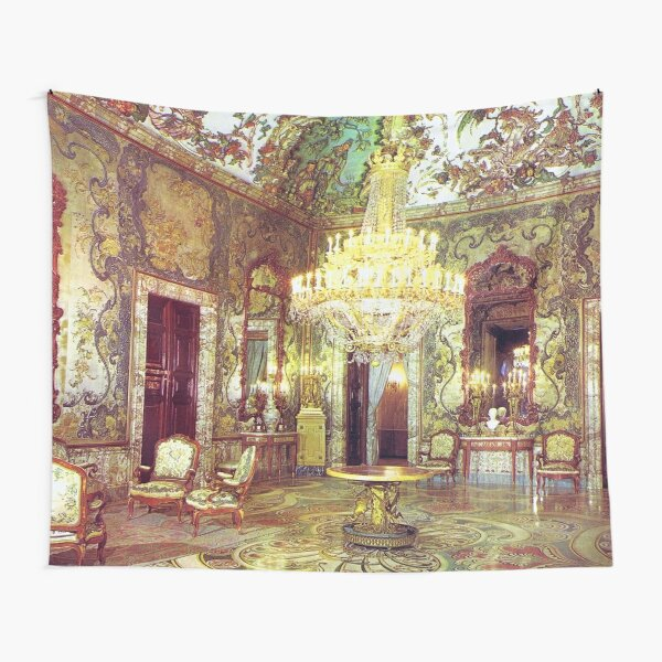 Old Rococo palace Tapestry