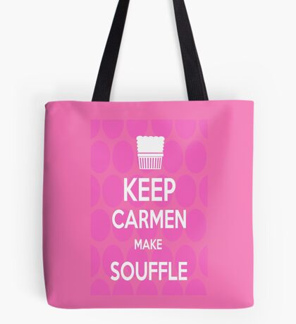 Keep Carmen make Souffle Tote Bag