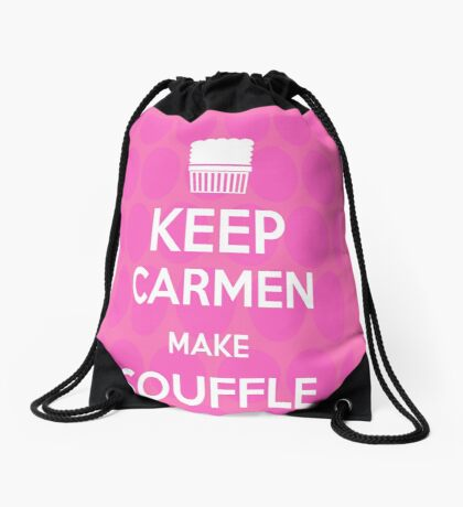 Keep Carmen make Souffle Drawstring Bag
