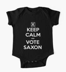 Vote Saxon  One Piece - Short Sleeve