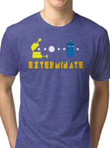 PAC DALEK Tri-blend T-Shirt