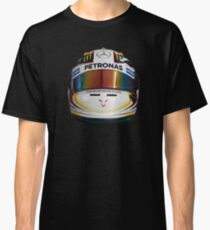 lewis Hamilton helmet front Classic T-Shirt