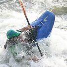 Surfing a Hydraulic by Wayne King