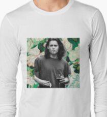 Young Johnny Depp Art Long Sleeve T-Shirt