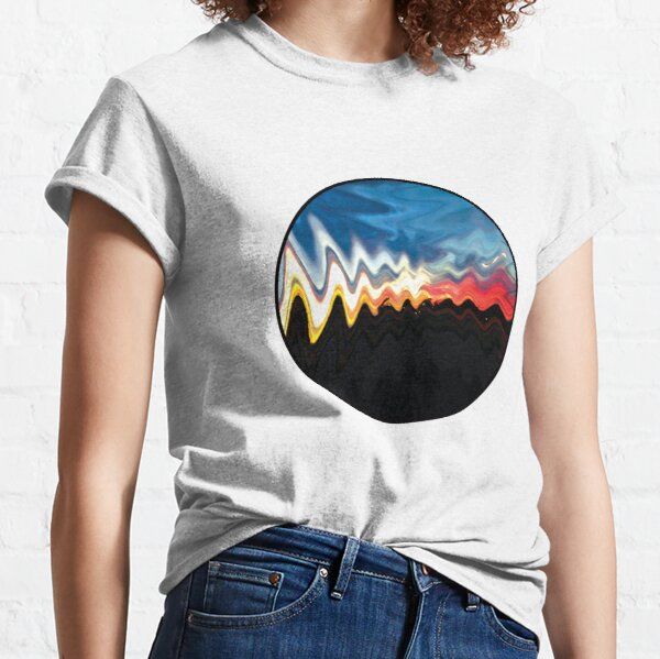 abstract skyline Classic T-Shirt