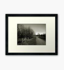 Fine Art Photograph Countryside rural  Framed Print