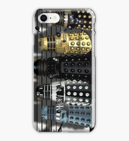 The Usual Daleks iPhone Case/Skin