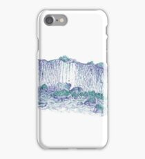 Ball point waterfall iPhone Case/Skin