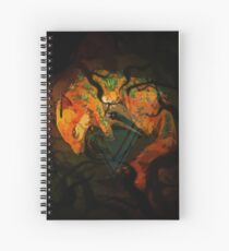 Fox Forest Spirit Spiral Notebook