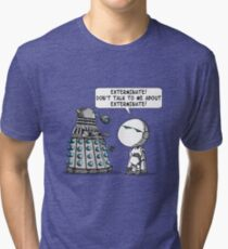 Marvin meets Who? Tri-blend T-Shirt