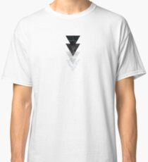 Marble Triangles Classic T-Shirt