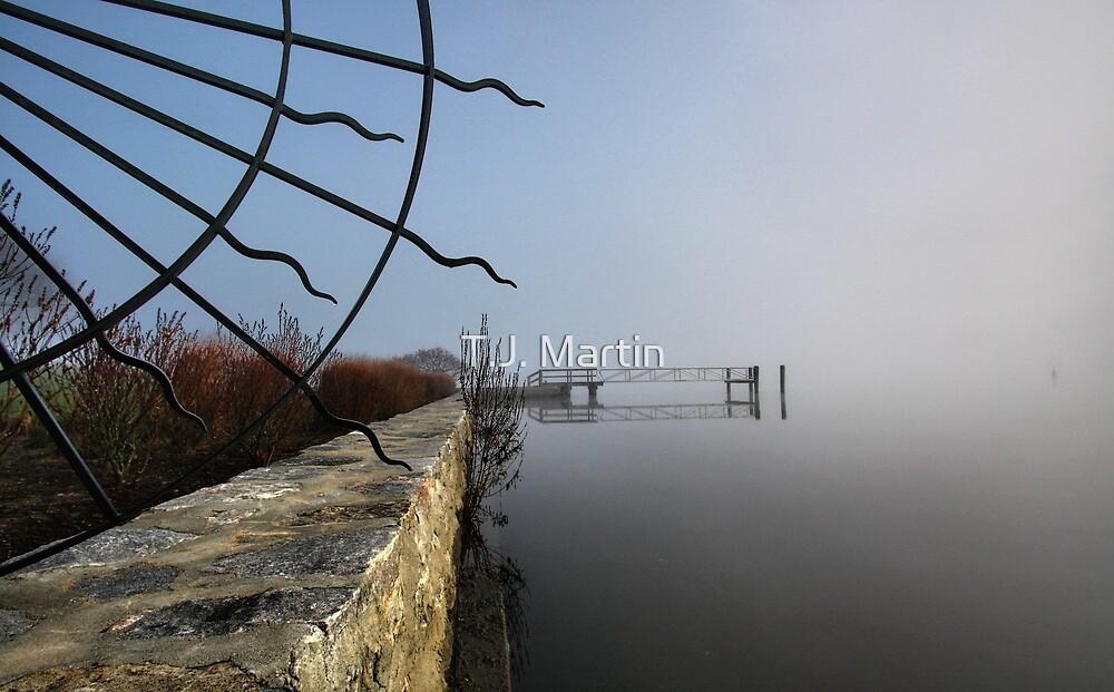 Riverfront Estate  -  Essex, Connecticut by T.J. Martin