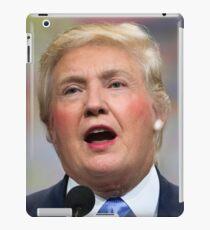 Funny Donald Clinton Face Morph iPad Case/Skin