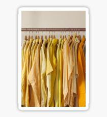 Yellow Shirts Sticker