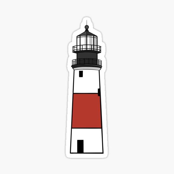 Sankaty Head Lighthouse Sticker