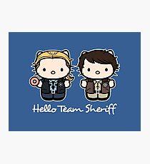 Team Sheriff  Photographic Print