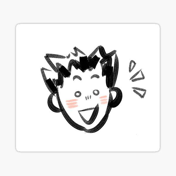 Happy Bokuto Sticker