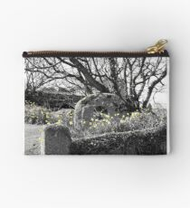 Mill stone and Daffs Studio Pouch